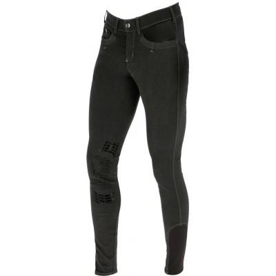 Pánské jezdecké kalhoty BasicPlus, šedé, vel. 46