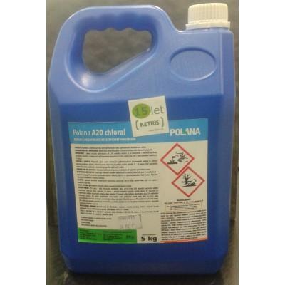 Pěnivý mycí a dezinfekční prostředek Polana A20 chloral, koncentrát, 25 kg