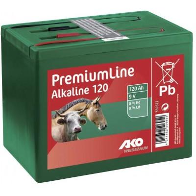Baterie alkalická 9V, 120AH