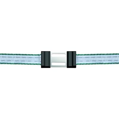 Litzclip na pásku, rovný, 20mm, nerez, 5ks
