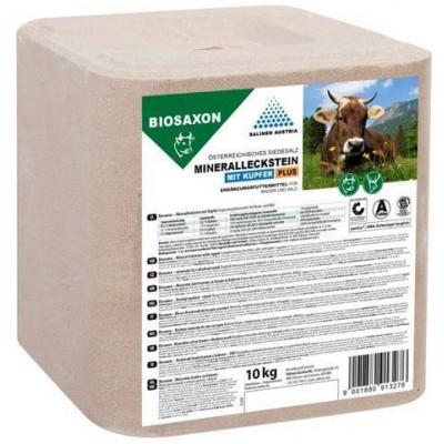 Liz minerální BIOSAXON 10kg, s mědí