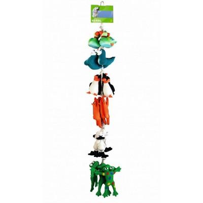 Set hraček na laně