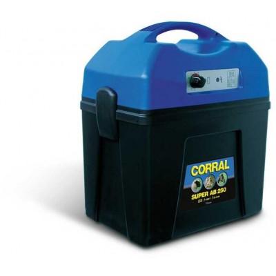 Elektrický ohradník - Ohradníkový zdroj akumulátorový Corral Super AB250