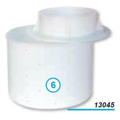 M- Forma kulatá se dnem 200x200x150 s víkem