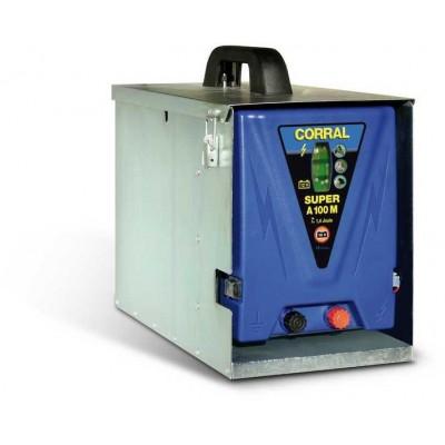 Elektrický ohradník - Ohradníkový zdroj Corral A100 M, včetně boxu