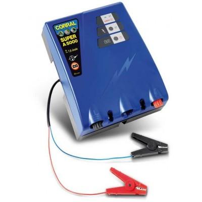 Elektrický ohradník - Ohradníkový zdroj Corral Super A5000