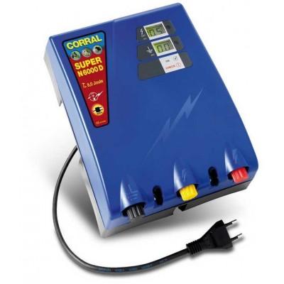 Elektrický ohradník - Ohradníkový zdroj Corral Super N6000D