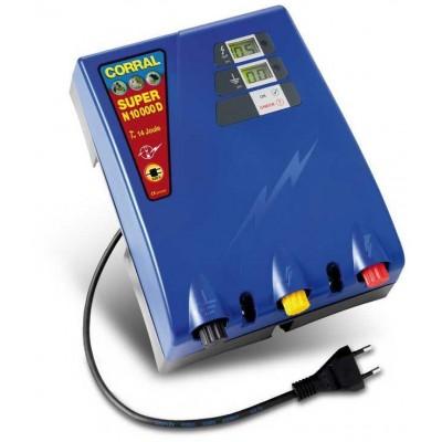 Elektrický ohradník - Ohradníkový zdroj Corral Super N10000D