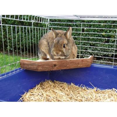 Vyhlídková terasa pro králíky 26x26x4cm