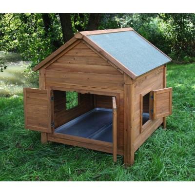 Domek venkovní pro králíky nebo slepice, 105x100x108cm