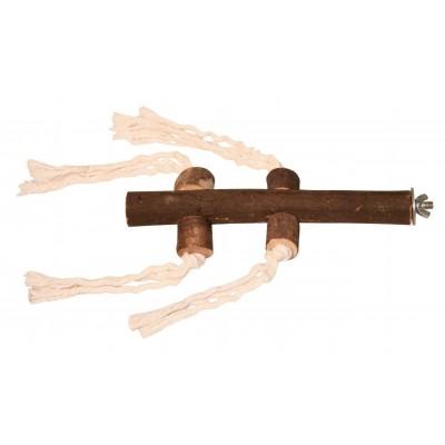 Bidýlko na šroub, dřevěné, 20cm