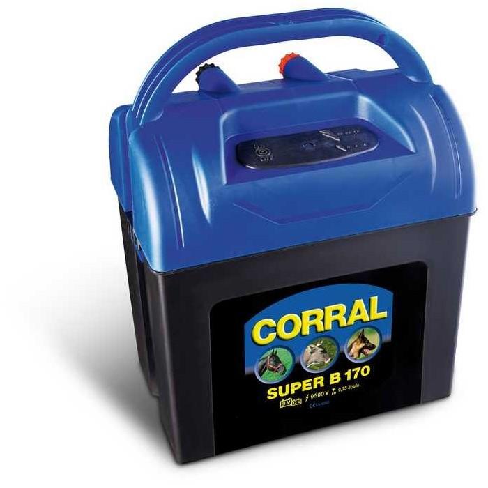 Elektrický ohradník - Ohradníkový zdroj Corral B170, včetně 230V