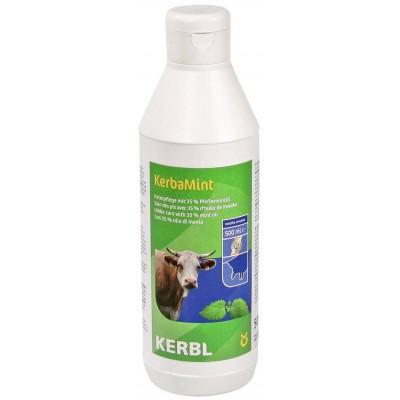 KerbaMint-přípravek k ošetření vemene s japonským mátovým olejem 500ml závěsná láhev