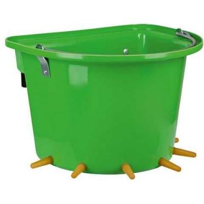 Kbelík pro jehňata, objem 12 l, komplet s dudlíky a ventily