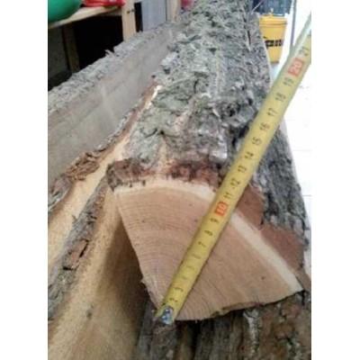 Akátový kůl 150cm, průměr 10 cm, štípaný