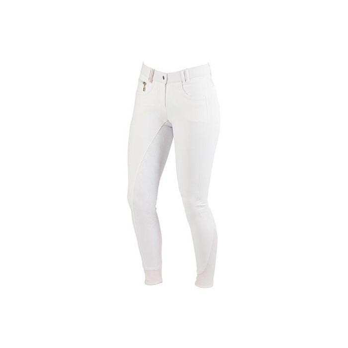Dámské jezdecké kalhoty - rajtky Detroit 2017, bílá, 42, poslední kusy