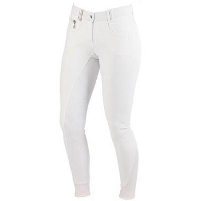 Dámské jezdecké kalhoty - rajtky DETROIT 2017, bílá, 36, poslední kus