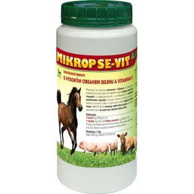 Mikrop SE-VIT pro koně, selata, telata, prasata plv 1 kg