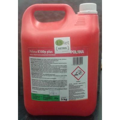 Pěnivý mycí a dezinfekční prostředek k odstraňování minerálních usazenin Polana K100P Plus, koncentrát, 5 kg
