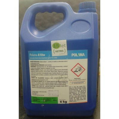 Pěnivý čistící prostředek k čištění nečistot vyskytujících se během uzení Polana A10w, koncentrát, 6 kg