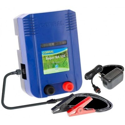 Elektrický ohradník - Ohradníkový zdroj Corral NA100 DUO, 230V/12V