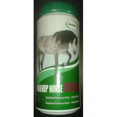 HORSE DERMA - doplňkové krmivo pro koně pro zdravá kopyta, 1kg