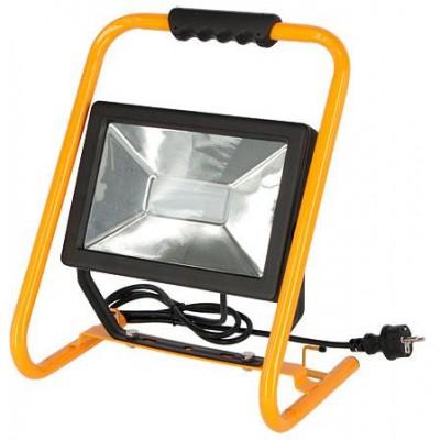 Venkovní LED světlomet, nelze tlumit, 50W, kabel 3m