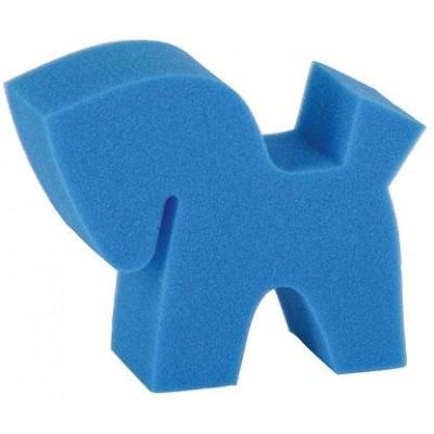 Ošetřující pěna Flecki - houbička ve tvaru koně, 3dílná sada
