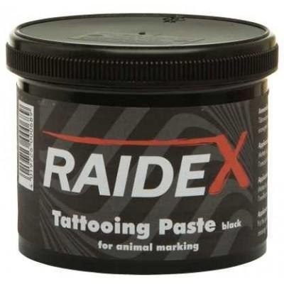 Tetovací barva RAIDEX černá 600g kelímek
