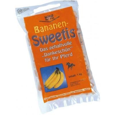 Pochoutka pro koně, banánová, v tab., 1kg