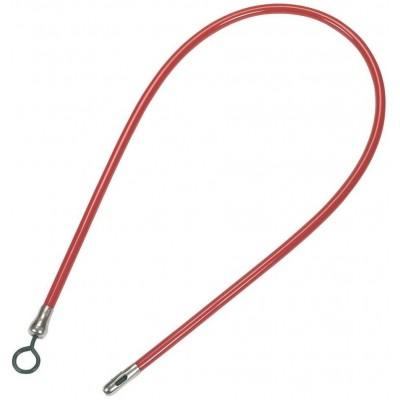 Roura jícnová pryžová červená _17mm, délka 150cm, hlava _25mm