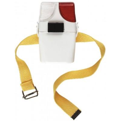 Signální lampa pro jezdce k holínce bílá/červená