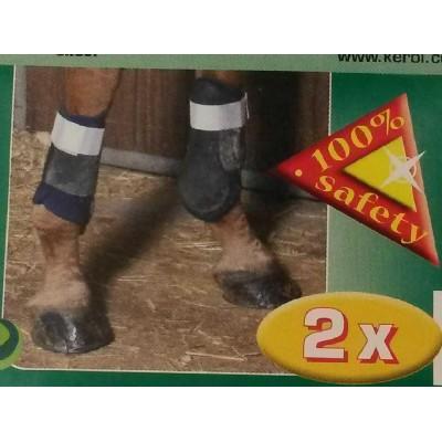 Reflexní pásek, suchý zip, pár, pro koně