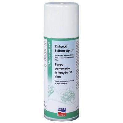 A- Chinoseptan Zinkoxid, 200ml, mast ve spreji, podpora přirozené regenerace kůže, péče a ochrana proti moči, potu