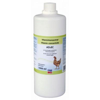 Vitamínový koncentrát AD3EC, 1000ml
