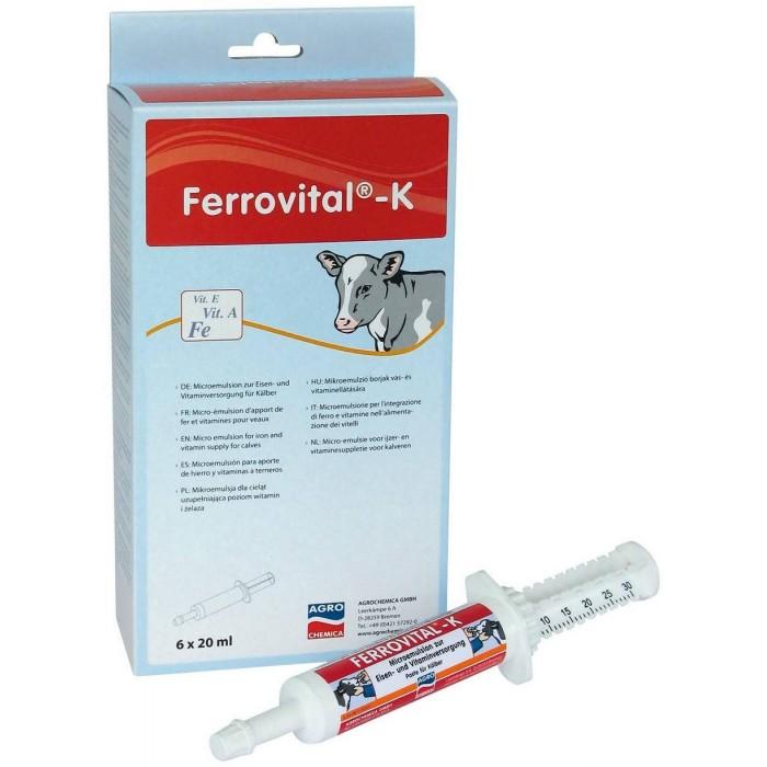 Ferrovital-K, 6x20ml, pasta