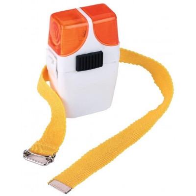 Signální lampa pro jezdce k holínce oranžová/oranžová