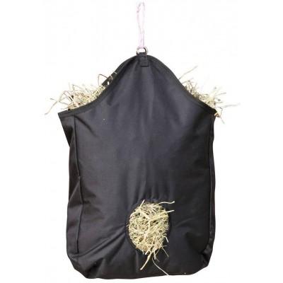 Vak závěsný na seno 65x50cm, 100%nylon černý