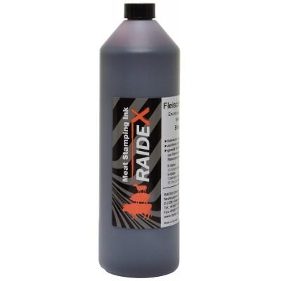 Barva na označování masa RAIDEX, 1000ml, hnědá