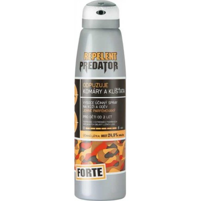 Repelent Predátor Forte, deet 24,9%, spray 150ml
