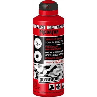 Repelent Predátor Outdoor Impregnace 200ml