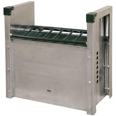 Automat na krmivo pro koně, kovový, 70, 5x70, 5x30, 5 cm