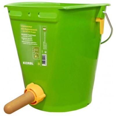 Kbelík zelený s hygienickým ventilem