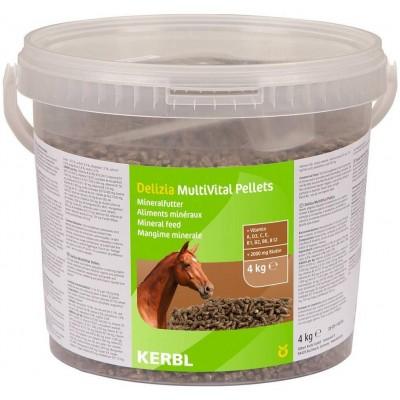 Doplněk krmiva pro koně Multivital Pelety 4kg
