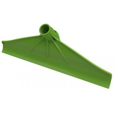 Škrabák stájový, plast šíře 40cm, zelená
