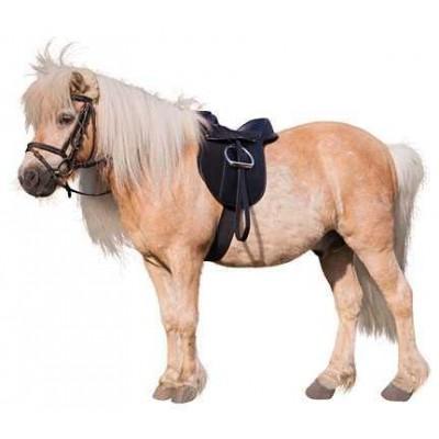 """Sedlová sada, černá, Pony Economy, 110 cm, 15,0"""""""