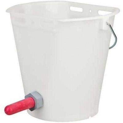 Kyblík nápájecí pro telata plast, transparentní, poslední kusy
