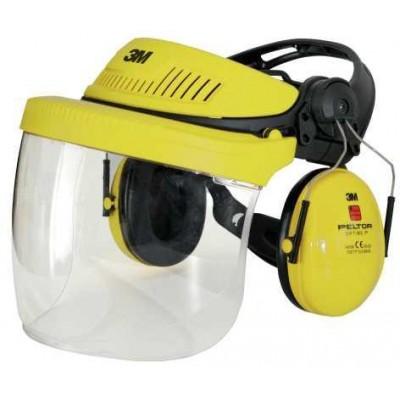 Ochranný štít a sluchátka G500