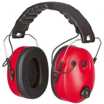 Ochranná sluchátka k potlačení šumu, závislé na hlučnosti
