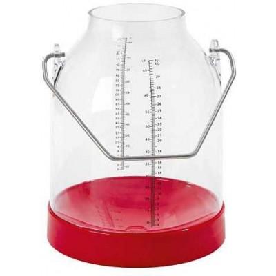 Konev na dojení červený, držadla 143 mm (standart)
